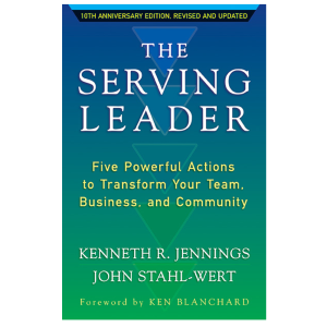 serving leader book cover